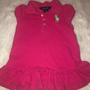Ralph Lauren Polo Dress- 12 months